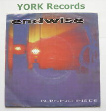 "ENDWISE - Burning Inside *WHITE LABEL* - Ex Con 7"" Single Firehouse FH 001"
