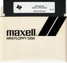 Infocom SORCERER Text Adventure - TI-99/4A Disk Version @@ RARE @@  # 171