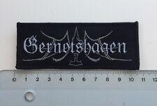 Gernotshagen - Logo Aufnäher / Patch (Obscurity, Pagan Metal Sammlung)