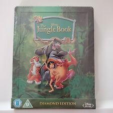 The Jungle Book Zavvi UK Exclusive Blu Ray Steelbook Sold Out OOP Brand New