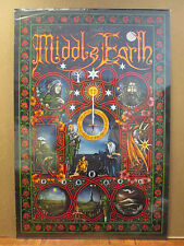 vintage 2001 Lord of the Rings Middle Earth original fantasy poster 8963