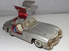 (U) Bandai Japan Tinplate MERCEDES 300SL GULLWING
