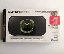 New Monster Superstar Wireless Bluetooth Speaker (black).