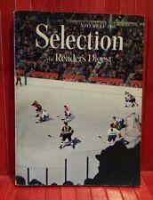 Reader's Digest Magazine , November 1956 , Montréal vs Boston on the cover .