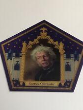 Harry Potter chocolate frog card NEW Garrick Ollivander Rare Limited Edition