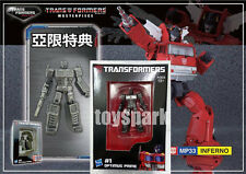 EXCLUSIVE MINI OPTIMUS PRIME Figure for Transformers Masterpiece MP-33 INFERNO