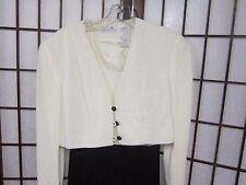 Liz Clairborne Dinner Date Dress. Size 6 New w/tags Never Worn Black & White