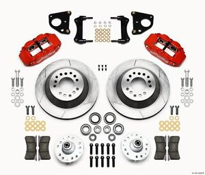 """Dodge Charger,Challenger,Wilwood Superlite 6R Front Big Brake Kit,12.88"""" Rotors"""