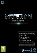 Meridian New World (PC DVD) BRAND NEW SEALED RTS GAMEPLAY