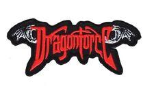 DRAGONFORCE Embroidered Patch Iron Sew Logo Hardcore Emblem Custom ROCK BAND NEW