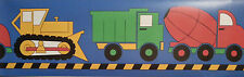 Construction Toy Trucks  Wallpaper Border