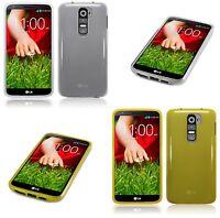 For LG G2 Slim TPU Gel Silicone Skin Back Case Cover