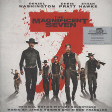 James Horner & Simon Franglen The Magnificent Seven Soundtrack 180g 2LP Red Viny