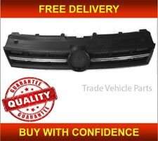 VW POLO 2009-2014 FRONT MAIN GRILLE WITH CHROME MOULDING NEW INSURANCE APPROVED