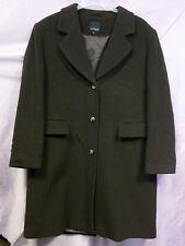 435f5272925d1 MARK ADAM New York   schöner dunkel-brauner Mantel lang Gr.42 Wolle Kaschmir