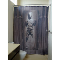 Star War 71 x 71 in Shower Curtain Han Solo in Carbonite