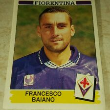FIGURINA CALCIATORI PANINI 1994/95 FIORENTINA BAIANO ALBUM 1995