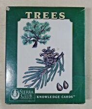 TREES Sierra Club Knowledge Cards By Pomegranate