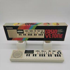 Casio VL-Tone VL-1 1980's Electronic Keyboard Synthesiser Calculator Electro Pop