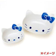 Hello Kitty Face Ramen,Noodle Bowl & Rice bowl 2pcs SET dish plate SANRIO  F/S