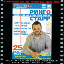 Ringo Starr And His All Starr Band'98 - Live Russia 3CD. THE BEATLES Trades.