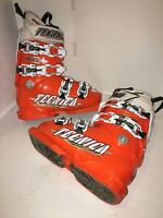 Tecnica Diablo Inferno 90 Racing ski boots size 3/3.5 270mm Orange/White
