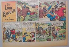 Lone Ranger Sunday Page by Fran Striker and Charles Flanders from 1/21/1940