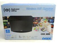 Laser Wireless Wifi Speaker Multiroom Spotify Music Hub Stereo Radio SPK-WFQ30