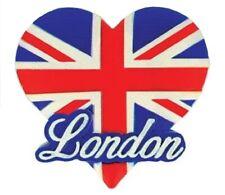 London Love Heart Fridge Magnet Union Jack Flag UK GB Souvenir Gift British