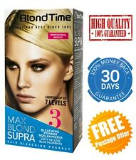 HAIR BLEACHING POWDER MAX BLOND SUPRA PROFESSIONAL BLEACH LIGHTENER AMMONIA FREE