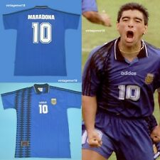 Diego Maradona Argentina #10 1994 USA World Cup Jersey Retro Soccer