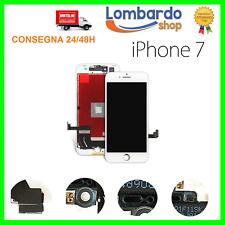 DISPLAY LCD VETRO TOUCH PER APPLE IPHONE 7 SCHERMO 7G ORIGINALE TIANMA BIANCO