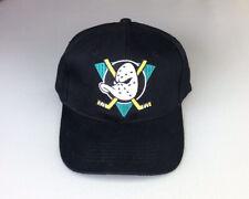 Nos Vintage 90's Nhl Anaheim Mighty Ducks Snapback Logo Hat New