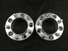 "2pc Hubcentric Wheel Spacers ¦ 5x5.5 To 5x5.5 25mm 1"" Inch ¦ 12x1.25 Studs"