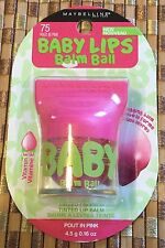 Maybelline Baby Lips Balm Ball #75 POUT IN PINK 4.5 g 0.16 oz