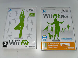 Wii Fit and Wii Fit Plus games (Nintendo Wii)