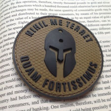 Molon Labe BADGE Nothing frightens Me Tactical Morale U.S. ARMY PVC Patch
