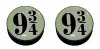 Pair Harry Potter Platform 9/3 Acrylic Screw-Fit Flesh Tunnels Ear Plugs 6mm-25m