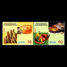 Macedonia 2005 - EUROPA Stamps - Gastronomy - Sc 331 MNH