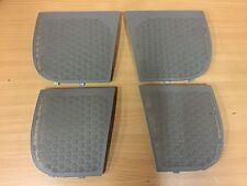 AUDI A2 tweeter speaker grill trim covers soul light grye set front & back