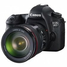 Canon EOS 6D + EF 24-105mm f/4 L IS USM Lens Kit Full Frame with GPS Wifi New