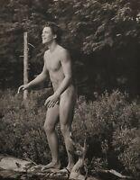 1990 Vintage BRUCE WEBER Outdoor Male Nude Model CLAES Adirondack Photo Gravure