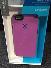 Speck SPK-A3043 CandyShell Case for iPhone 6 & 6S, Purple/Blue