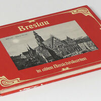 Breslau Picture Book w/100 photos from 1894-1914 of Wroclaw Silesia Schlesien