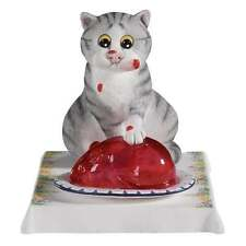 Comic & Curious Cats Jelly Belly Figurine New Boxed A22197