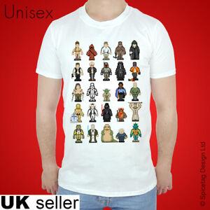 SALE SW Jedi T-shirt Pixel Tshirt The Force Top 8bit 16bit Tee Light Saber Sith