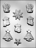 Christmas Assortment Chocolate Candy Mold from CK #4101 - NEW