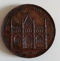 Médaille Italie, Savoie-Sardaigne/Christine de Bourbon/tombeau Ch. Félix, 1841