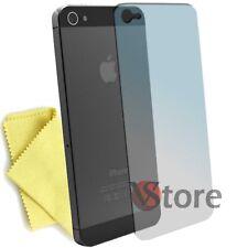 Film pour iPhone 5 5G 5th Protecteur D'écran Display Apple Arrière + Chiffon
