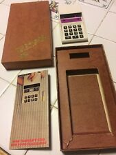 VINTAGE NS 900 ELECTRONIC LED CALCULATOR - COMPLETE IN BOX